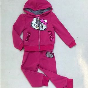 Hello kitty sweatsuit